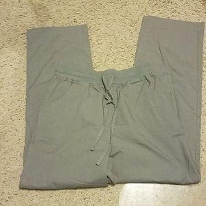 scrub studio Pants - Scrub Studio Gray Bottoms S